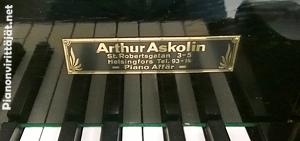 Arthur Askolinin valmistama piano